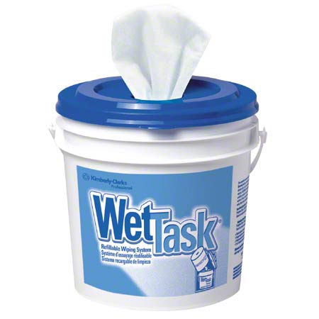 "06001 WET TASK WIPES WHITE 12 X 12.5"""" 6X60/CS"