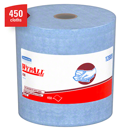 "12889 WYPALL X90 CLOTHS, 11.1"" X 13.4"" ONE ROLL PERF"