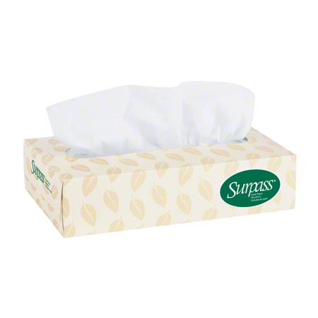 21390 SURPASS WHITE FACIAL TISSUE 60BX X 125SHT/CS