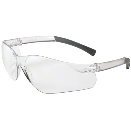 25650 (08656) KC V20 PURITY SAFETY GLASSES, CLEAR LENS, CLEAR TEMPLES, 12/BOX