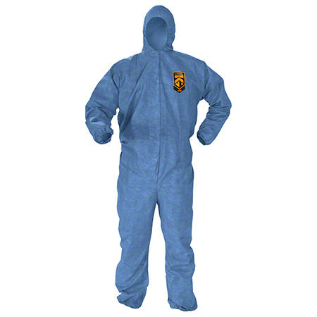 45022 KLNGRD A60 COVERALL BLUE MEDIUM 24/CS