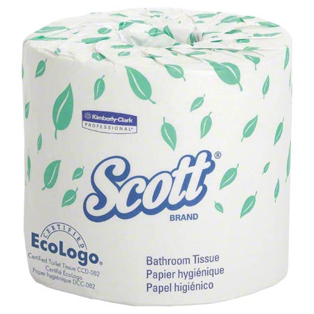 48070 1PLY SCOTT BATHROOM TISSUE, 40RLS X 1210SHT/CS