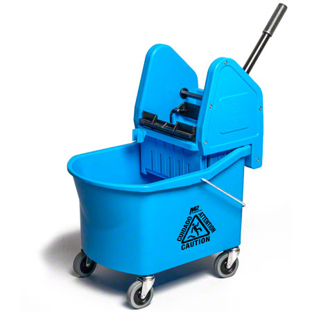BW-D33100-BL 32QT GRIZZLY DOWNPRESS WRINGER & BUCKET COMBO, BLUE