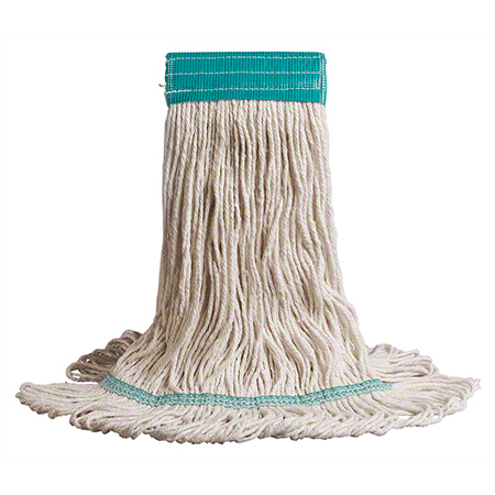 MW-CL3L-NB LARGE LOOPED COTTON 24 OZ WET MOP HEAD NARROW BAND BAGGED