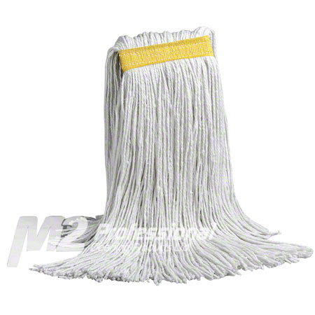 MW-SC12 12OZ. RAYON WET MOP NARROW BAND CUT END UNBAGGED