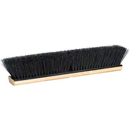 "PB-T24 PUSH BROOM 24"" TAMPICO FIBRE ALL PURPOSE"