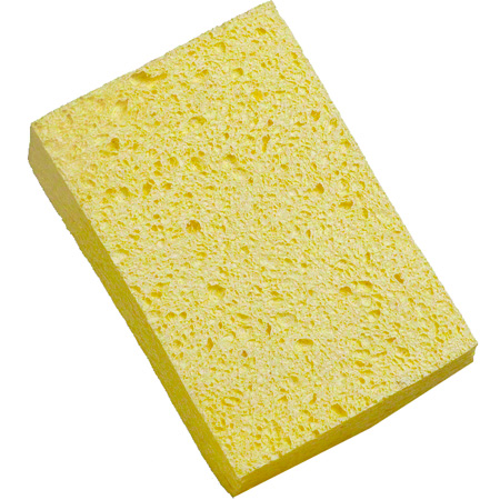 SPE745 YELLOW CELLULOSE SPONGE 61/4 X 4 1/8 X 1 5/8