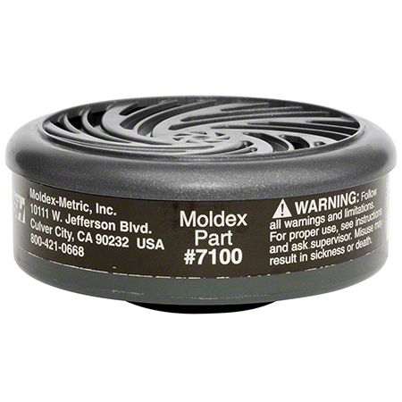 7100 MOLDEX CARTRIDGE ORGANIC VAPOUR FOR 7000 AND 9000 SERIES MASK 1PR/BAG