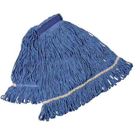 134878 MPLMM-BL MARINO LOOPER MEDIUM MOP HEAD, BLUE, NARROW BAND, 12/CS