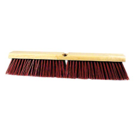 PB-G24 24″ GARAGE PUSH BROOM H.D. POLYSTYRENE