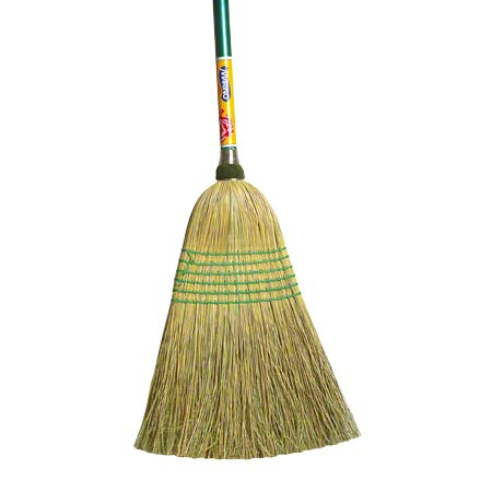 "BC-107 ALL PURPOSE CORN BROOM 15/16"" X 48"" HANDLE"