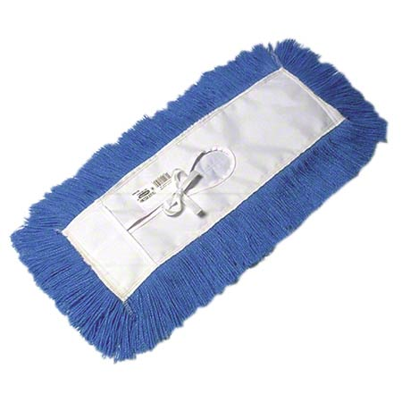 "DM-STH518-BL 18"" TIE ON DUST MOP REFILL HI-STAT BLUE (DM518NB)"