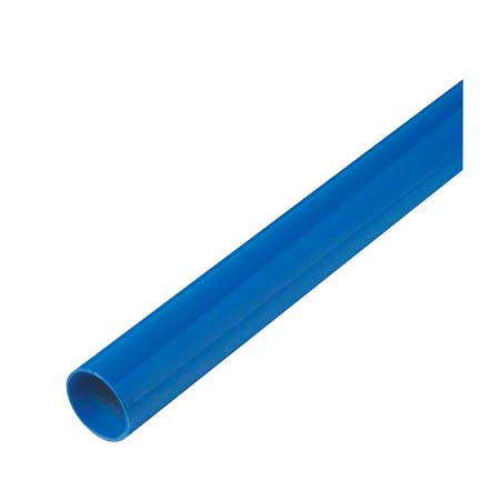 "FH-A361 60"" X 15/16"" ANODIZED ALUMINUM HANDLE NYLON TIP"