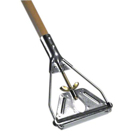 HW-145W (MH145W) QUICK CHANGE WOODEN MOP HANDLE