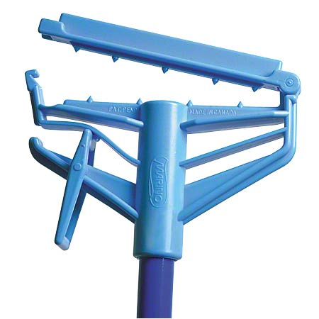 "HW-7001F BLUE 54"" SNAP & GO FIBERGLASS MOP HANDLE"