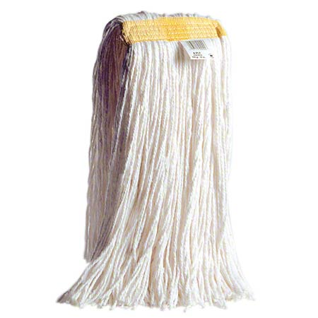 134847 MARINO SENTREX 32OZ CUT END MOP, NARROW BAND, WHITE, 4 ROW STITCHED, 12/CS