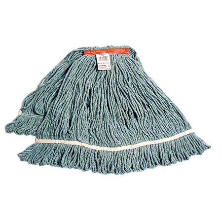 MW-SLR4XL-NB-BL BLUE EX-LARGE, LOOPED END MOP HEAD (32 OZ)