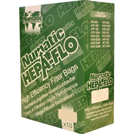 604015 NVM-1CH HENRY VACUUM BAGS 10/PK FOR 200/225/250 MODELS