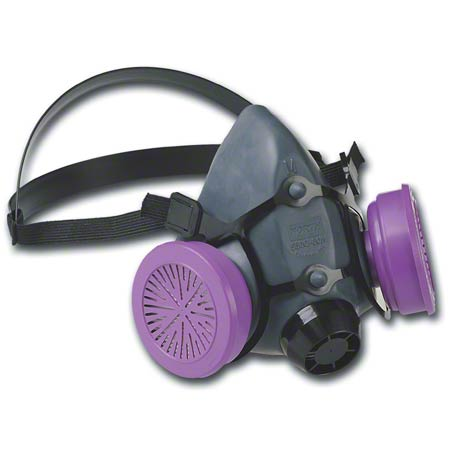 N5500-L NORTH HALF MASK RESPIRATOR SIZE LARGE