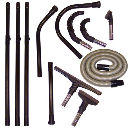 "3092989 OVERHEAD CLEANING KIT FOR NSS PIG VAC - 19"" SIDEWINDER, 6"" PIPE BRUSH, 3"" PIPE BRUSH, 3"" ROUND BRUSH, 3 EXTENSION WANDS, STRAIGHT TOOL, 45 DEGREE CONNECTOR, 135 DEGREE CONNECTOR, HOSE TO WAND CONNECTOR"