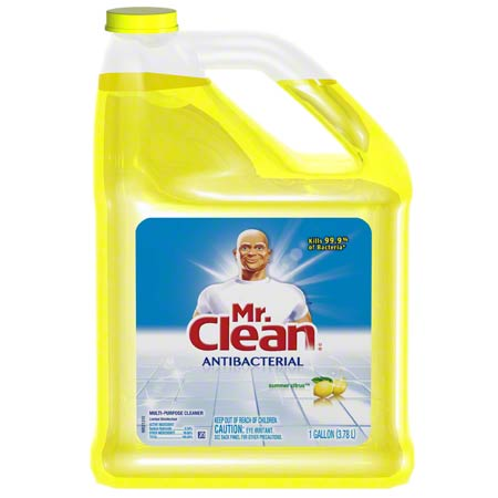 31504 MR. CLEAN ANTIBAC. MULTI SURFACE CLEANER 4 X 3.78L/CS