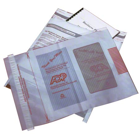 FP10X13 FASTPAK 10″x13″ COURIER POLY ENVELOPE WHITE/GREY SELF-SEAL 500/CS