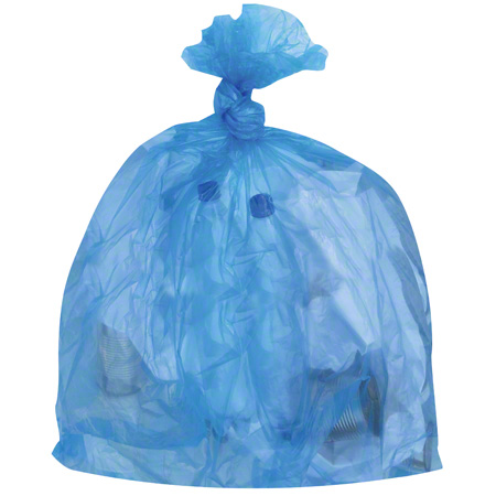 2985-08 35X50 GARBAGE BAG, X-STRONG BLUE 100/CS