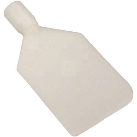 70135 VIKAN PADDLE SCRAPER- FLEXIBLE, WHITE, REQUIRES EUROPEAN THREAD HANDLE