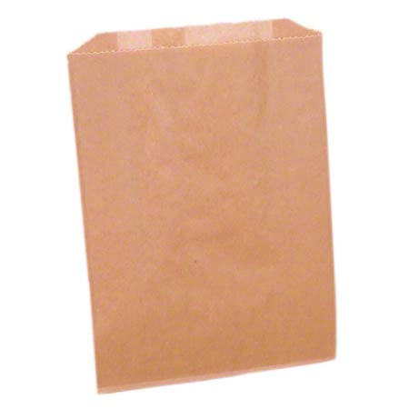 "KL260 DISPOSABLE WAXED LINERS BAGS 500/CS 7""W X10""H X3""D (formerly #77 & 25025088)"