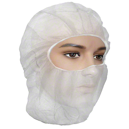 1880 RONCOCARE BALACLAVA WHITE LIGHT WEIGHT 500/CS