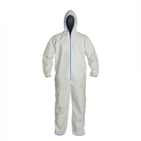 40-261-L COVERME MICROPOROUS COVERALL SIZE LARGE ( SOLD PER EACH)