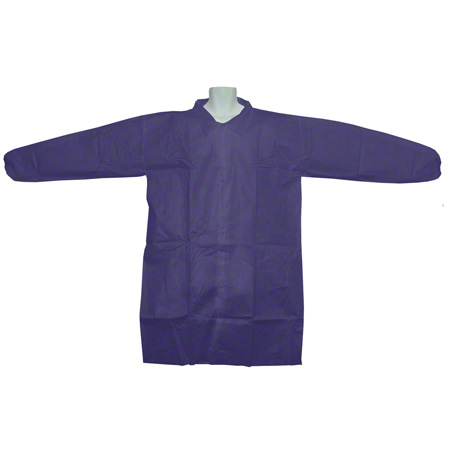 44-155 XL BLUE LAB COATS 25/CS