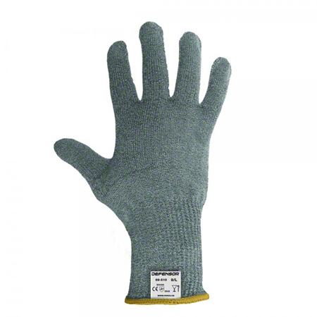 69-510-08 PRIMACUT MEDIUM HPPE ENGINEERED FIBRE CUT RESISTANT GLOVES GREY (CUT LEVEL 5) 12/BX