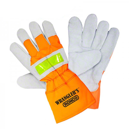 74-448-10 WRANGLER WINTER HI-VIZ SPLIT LEATHER FITTER