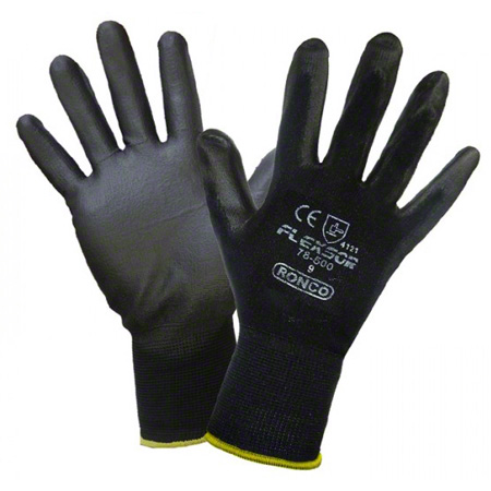 78-500-09 FLEXSOR PALM COATED NYLON GLOVE, LARGE, 72PAIRS/CS