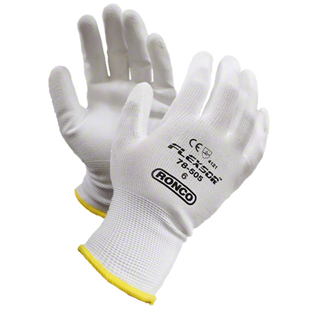 78-505-07 FLEXSOR PU PALM COATING NYLON SHELL SZ. 7