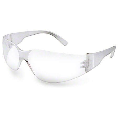 "82-050 NOVA SAFETY GLASSES ""ONE PIECE LENS"" CLEAR 12/BX"