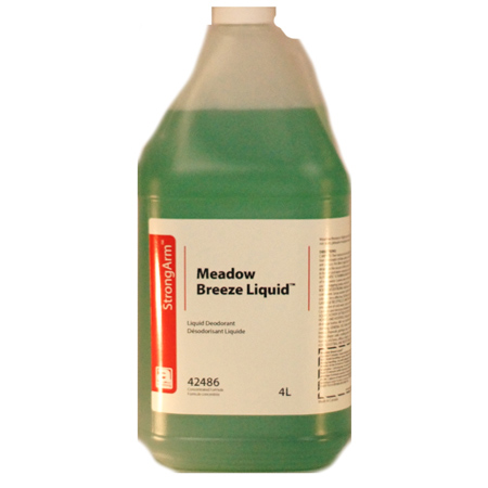 42486 4 X 4L MEADOW BREEZE DEODORIZER FOR CARPET