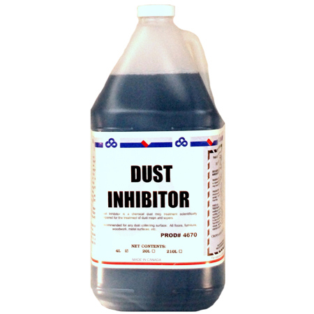 4 X 4 L. DUST INHIBITOR - DUST MOP TREATMENT OIL BASE