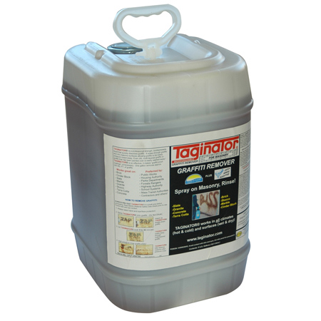 TAGINATOR 5 GAL. GRAFFITI REMOVER FOR MASONRY & BRICK SURFACES