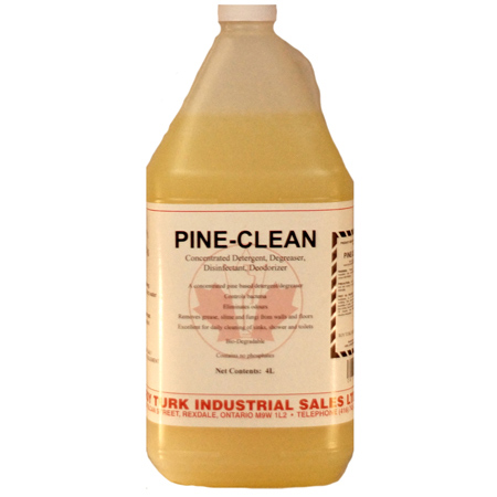 4 X 4L PINE CLEAN DEGREASER
