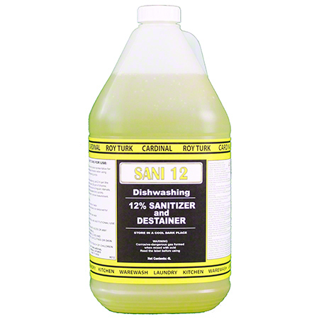 HC12-4-CM SANI 12% SANITIZER 4 X 4L/CS