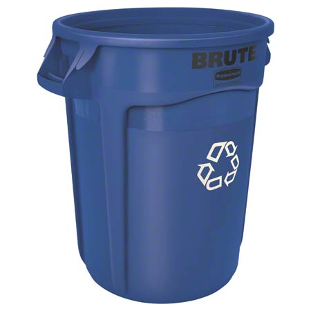 FG263273BLUE BRUTE 32 GAL RECYCLING CONTAINER BLUE