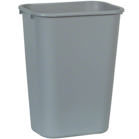 2957 LGE WASTE BASKET, GREY, 15 X 11 X19""""