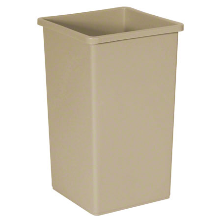 3568 BEIGE CONTAINER 14 X 24 19 GAL.