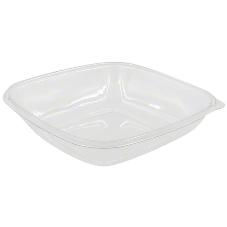19048B150 CLEAR 48oz LARGE SQUARE BOWL 150/CASE