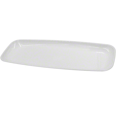 2318 WHITE MOZAIK MEDIUM RECTANGLE PLATTER 25/CASE