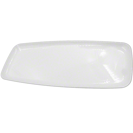 2322 WHITE MOZAIK LARGE RECTANGLE PLATTER 25/CASE