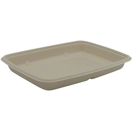 46120F300N SABERT 20oz MEDIUM RECTANGLE PULP CONTAINER 300/CS