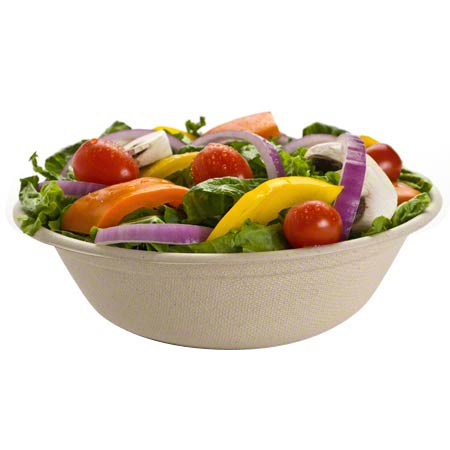 "49032D300 32oz 8.5"" ROUND PULP BOWL 300/CASE"